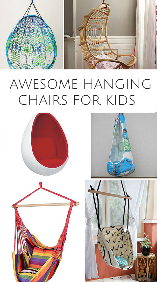 10 Awesome Hanging Chairs For Kids. These Are Fun Chairs For Kids Bedroom  Or Playroom