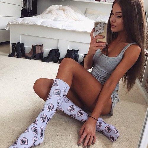 Sexy girls in socks tumblr