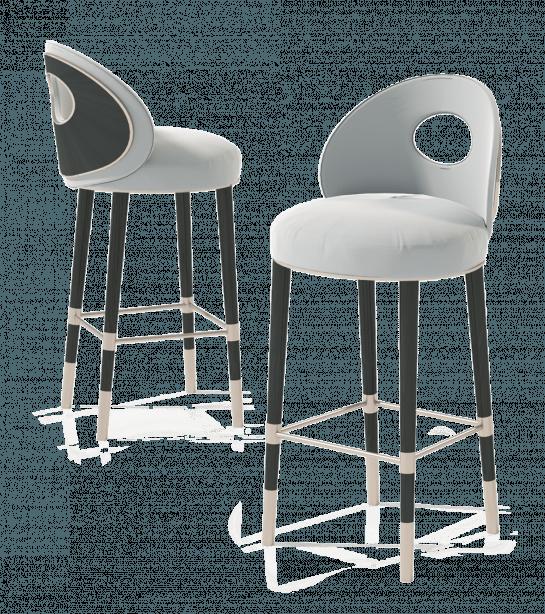 Fire Bar Chair Fabric Luna Z Cs 01 Titanium Brass And Dark Wire Brushed Oak Furnituredesigns Bar Chairs Bar Stool Chairs Furniture