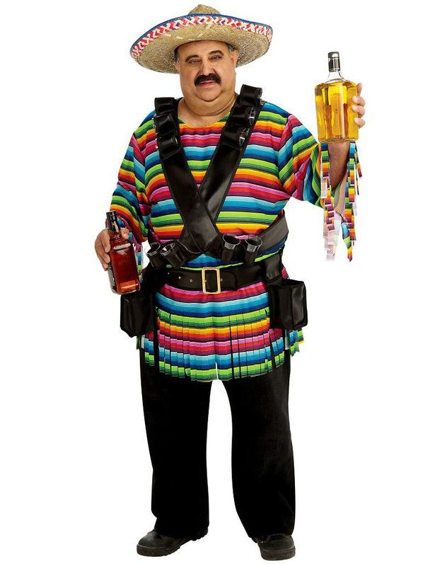 d25a004c9c92c Tequila Sunrise Costume for Men in 2019 | Various costumes | Mexican ...