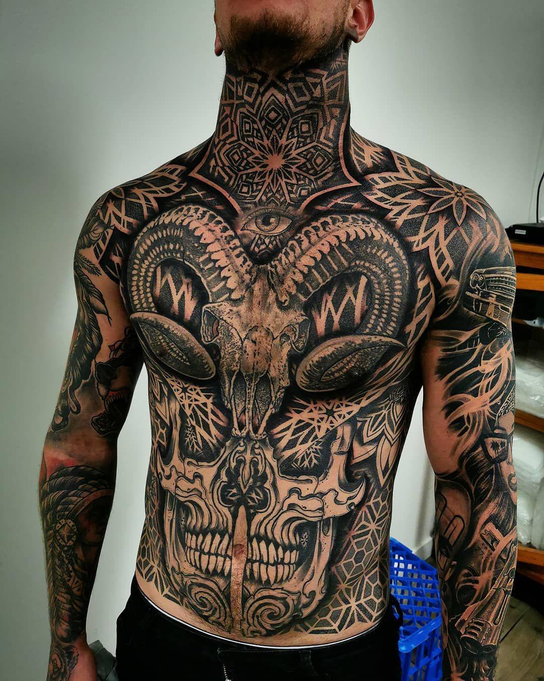 Tattoo work by Kaelin Chee Tattoos, Sleeve tattoos
