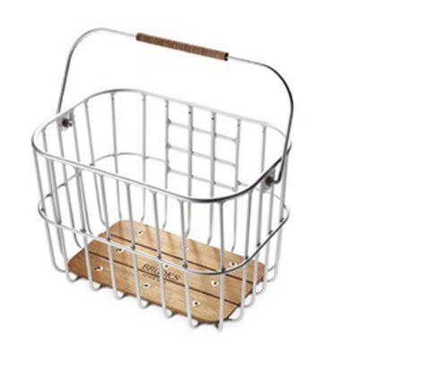 Basil Bremen Lenkerkorb mit Klickfix silver online kaufen