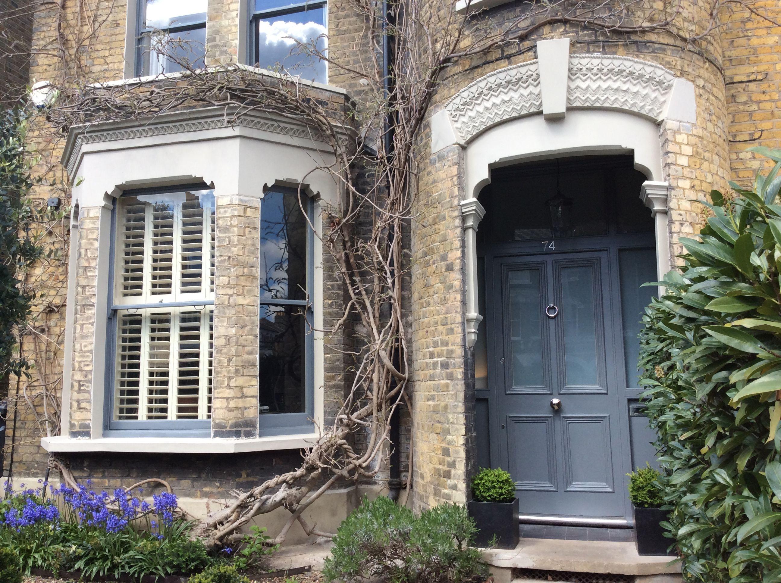 Little greene portland stone scree london victorian house front