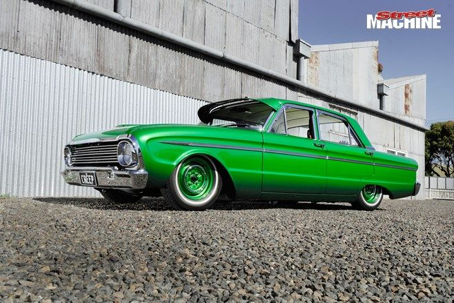 Custom Meets Lowrider In 60s Inspired Xm Falcon Lowriders Ford Falcon Falcon