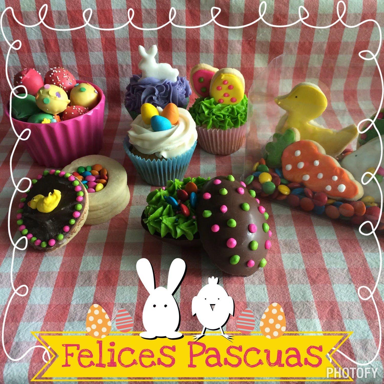 All You Need Is Cupcakes!: Y llegaron las Pascuas!!!!