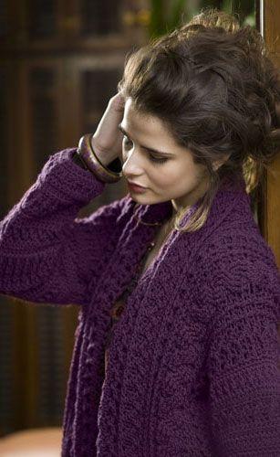 Copenhagen Jacket - free crochet pattern | Crochet~Sweaters, Shawls ...