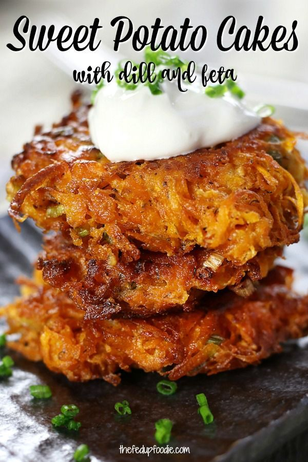 How To Make The Best Sweet Potato Cakes- The Fed Up Foodie