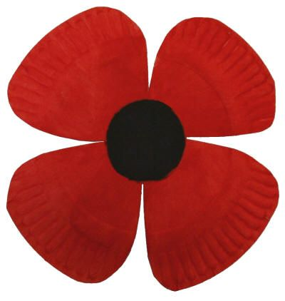 Paper Plate Poppy Craft Easy For Preschoolers It Makes Me Think