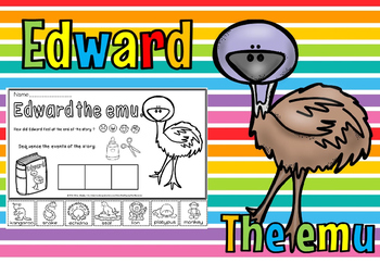 Edward The Emu Ad 24 7 Tieplay Educational Resources border=