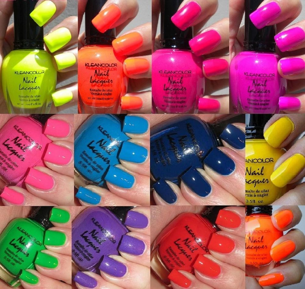 12 New Kleancolor FULL SIZE LOT Nail Polish SET | Nail polish sets