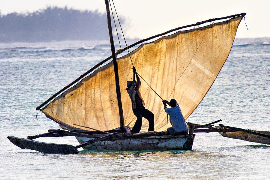 Hoisting Sail by seaver1
