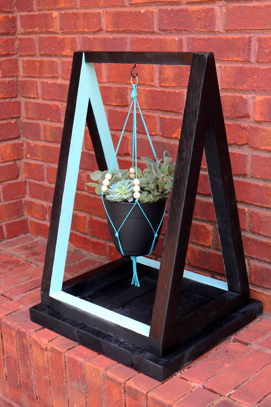 How To Build A Hanging Planter With The Home Depot