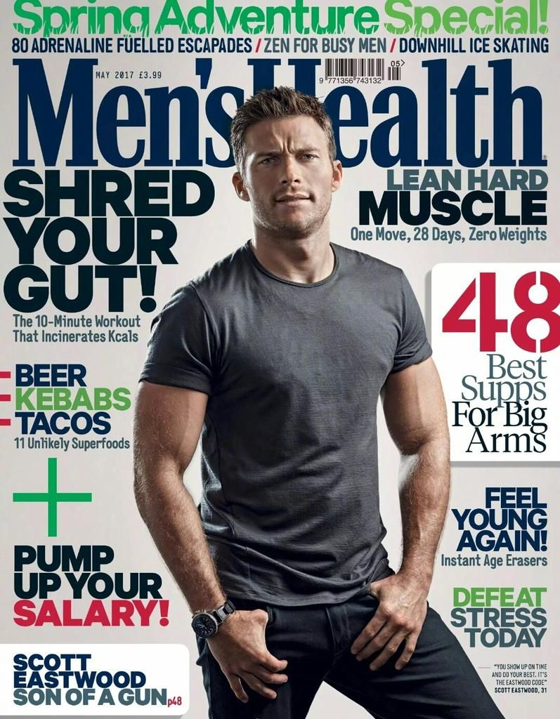 2577c08720a DIARY OF A CLOTHESHORSE  Scott Eastwood covers Men s Health UK May 2017