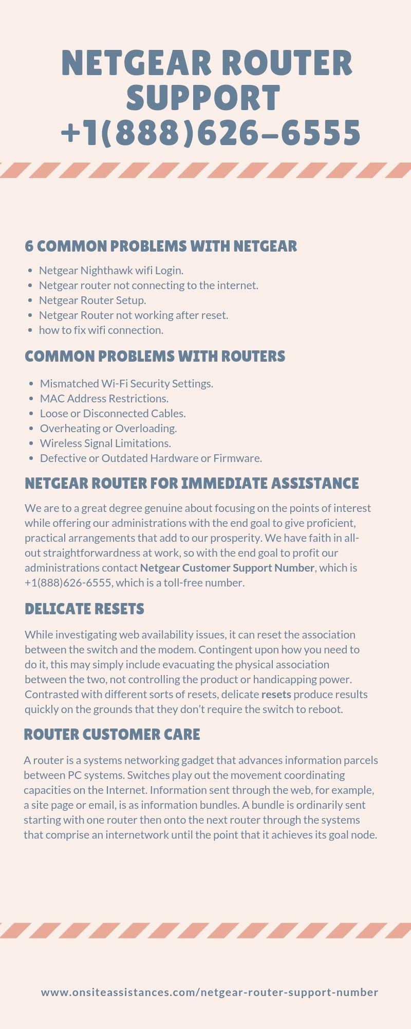 Netgear Router Support Number Netgear router