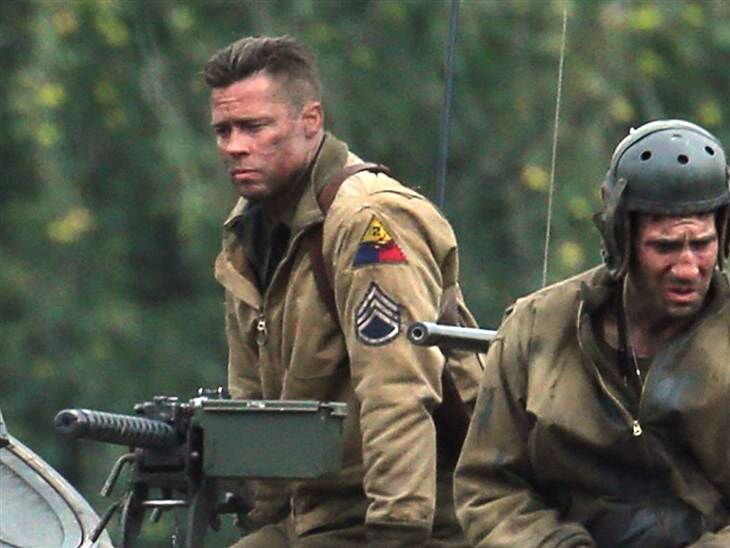 Pin By Jette Gensch On Men S Fashion Brad Pitt Fury Movie Fury