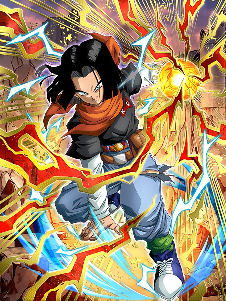 Ruthless Pressure Android 17 (Future) Dragon ball z