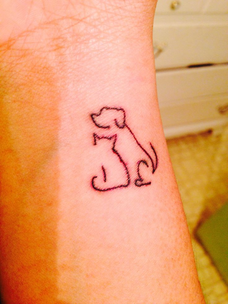 image result for dog and cat tattoos tatou pinterest tattoo rh pinterest co uk Cute Wrist Tattoo Sayings Roman Wrist Tattoo Quotes