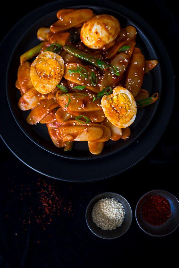 Korean tteokbokki spicy rice cake stir fry recipe chilli korean tteokbokki spicy rice cake stir fry korean food recipeseasy forumfinder Choice Image