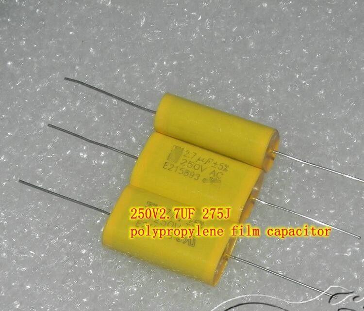 250v2 7uf 275j Polypropylene Film Capacitor Copper Foot Promise Hifi Capacitors Film Capacitor Hifi