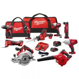 Milwaukee 2695 29cx 9 Tool M18 Combo Kit For 499 Today Combo Kit Milwaukee Milwaukee Tools