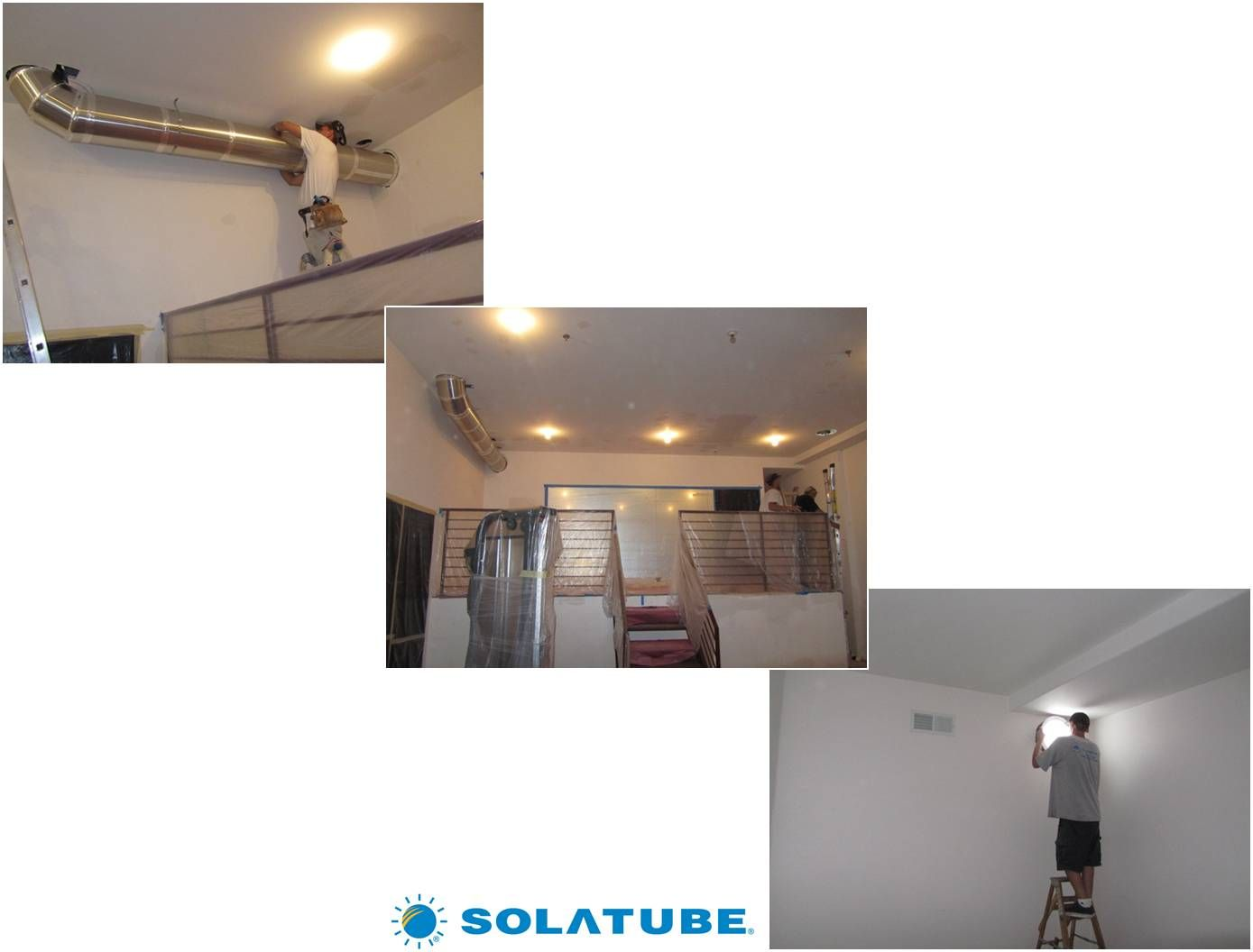 This Tube Brings Natural Light From Outside Into The Interior Of This Home Solatube Is The Industry Leader For Tubular Tubular Skylights Light Ceiling Lights