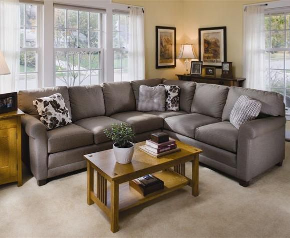 365 Upholstered Stationary Sectional By Smith Brothers Johnny