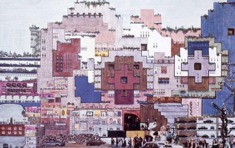 Hacia una formalización de la ciudad en el espacio | Ricardo Bofill #arquitectura #bofill