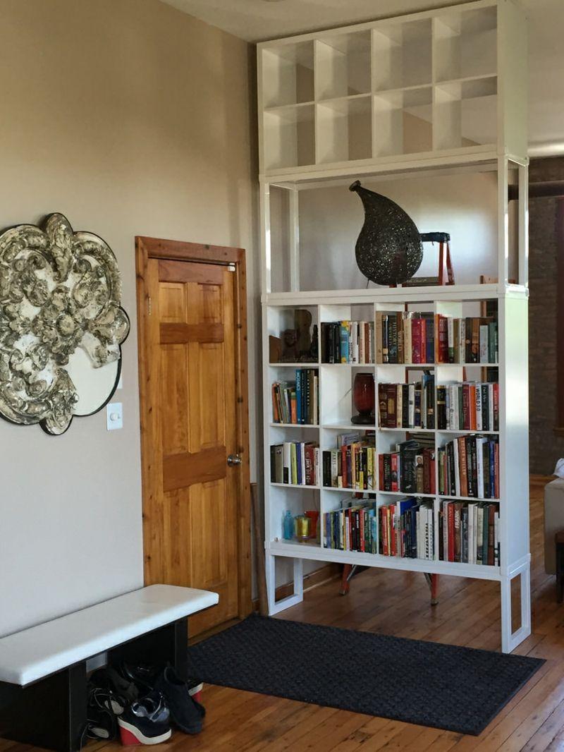 55 Kallax Regal Ideen Als Raumteiler Kleiderschrank Garderobe