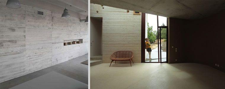 Parete effetto cemento ambientazioni interni pinterest - Parete effetto cemento ...