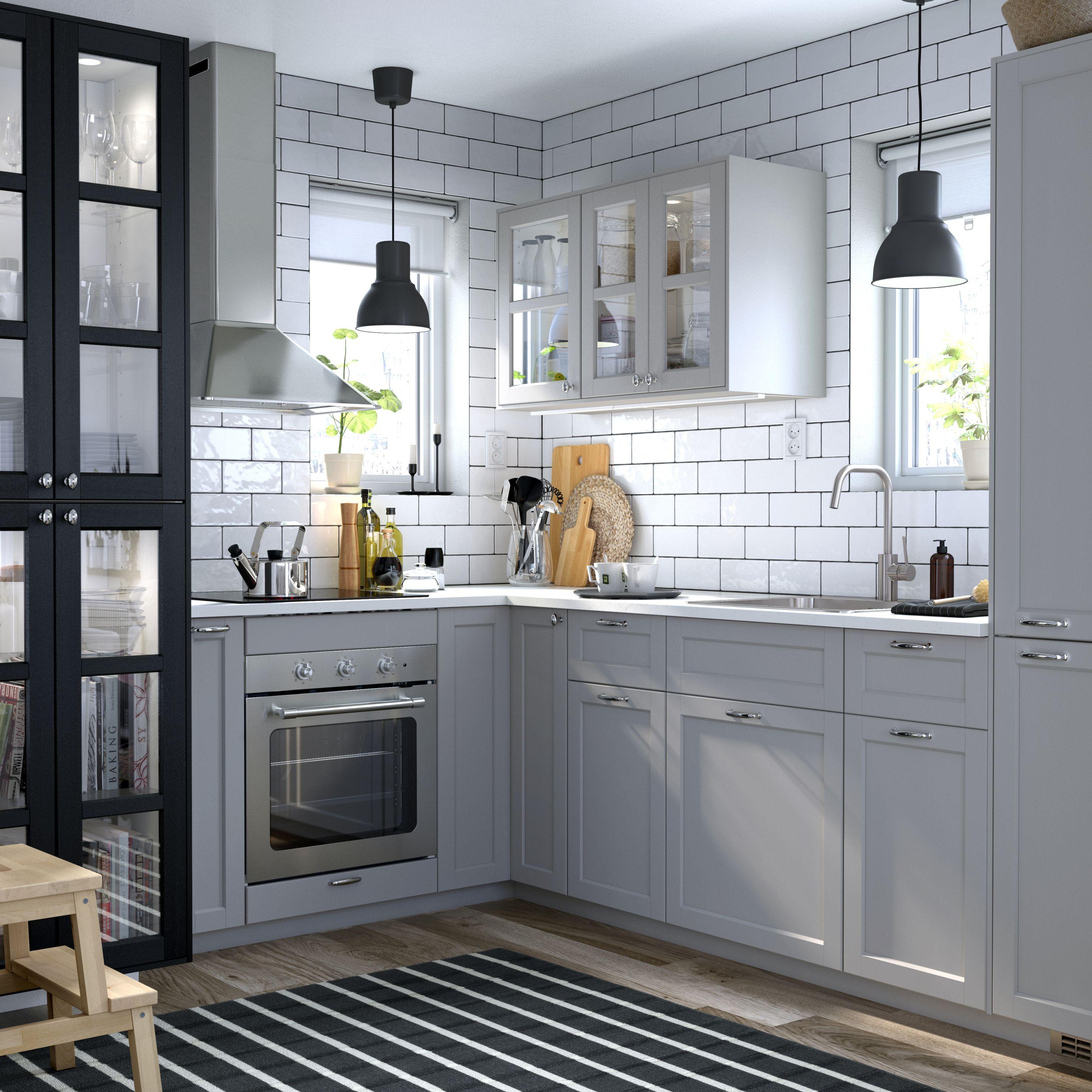 Ikea Lerhyttan  Kk i 2019  Kitchen Cabinets Ikea kitchen och Grey ikea kitchen