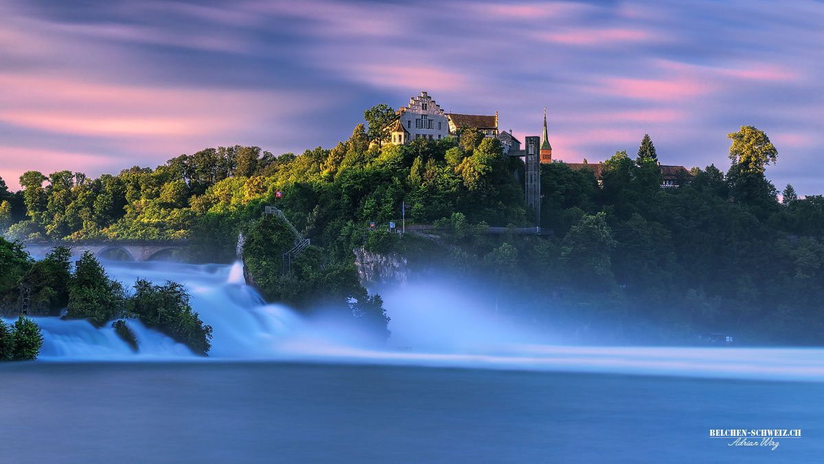Schloss Laufen-Rheinfall by Adrian Wirz on 500px