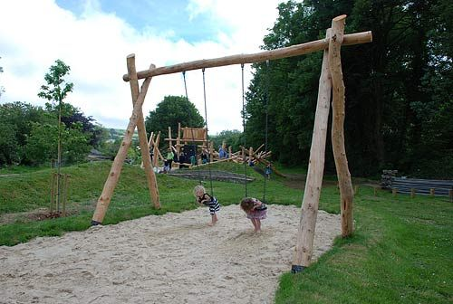 tons of ideas and inspiration for creating a natural play place.