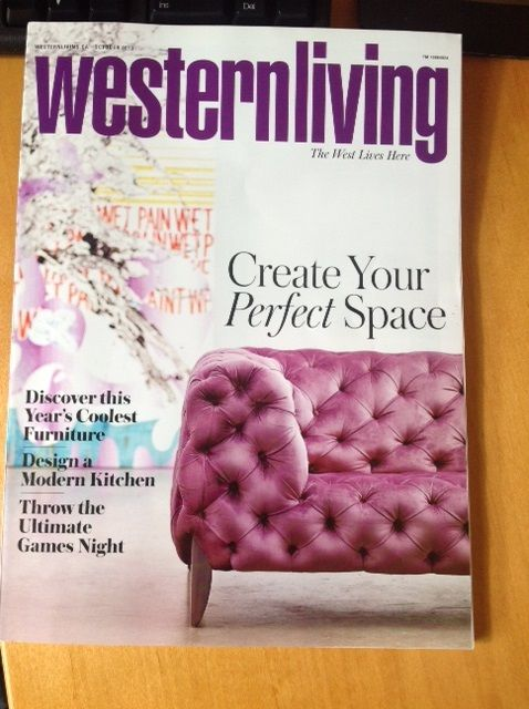 Western Living Chooses Sabine As Its Favorite - Nathan Anthony Furniture