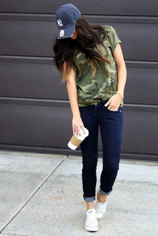 Resultado De Imagen Para Outfits Con Gorras Para Mujer | Con Gorras | Pinterest | Para Mujeres ...