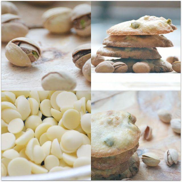 galetes d xocolata blanc i pistacho