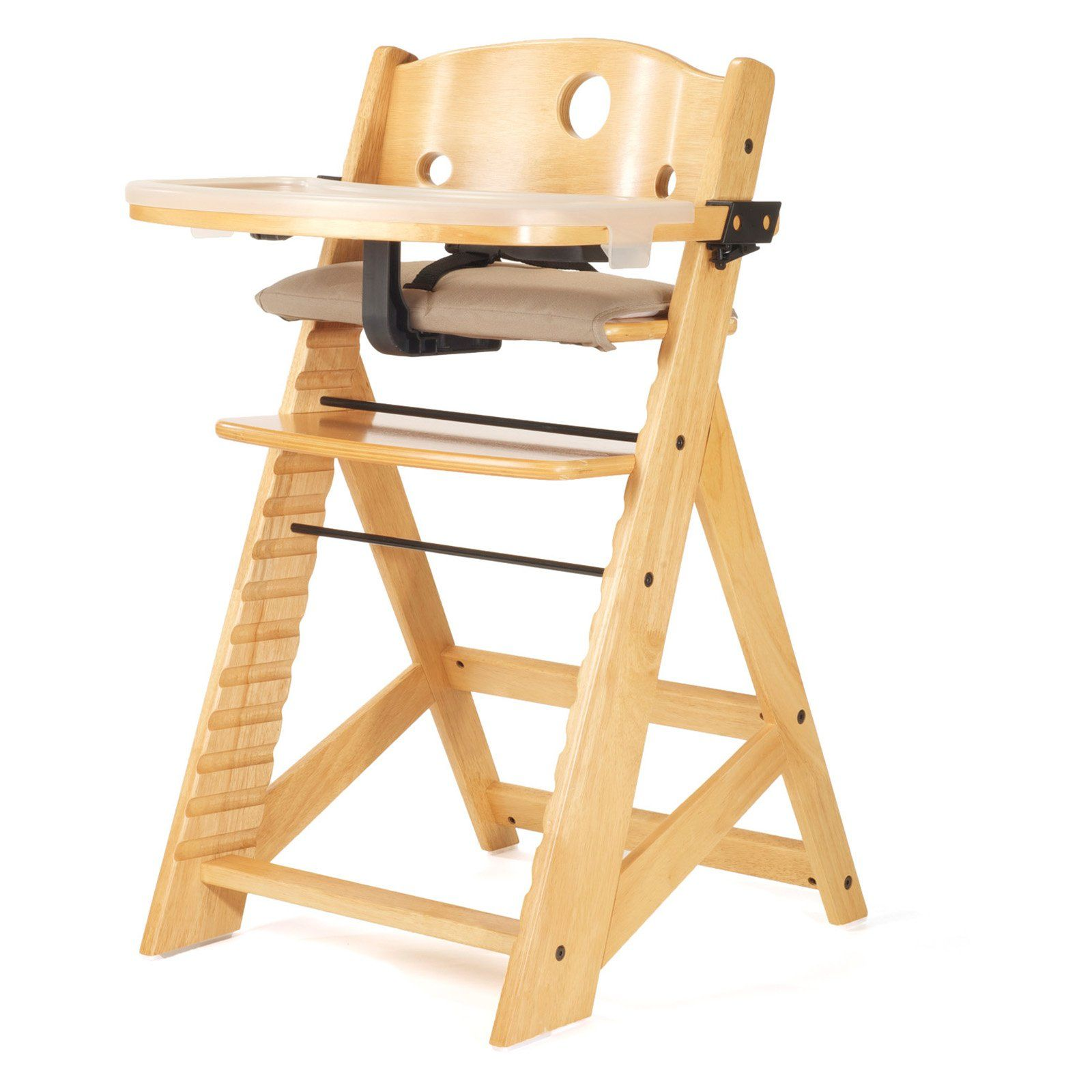 Excellent Keekaroo Height Right High Chair With Tray Natural Beatyapartments Chair Design Images Beatyapartmentscom