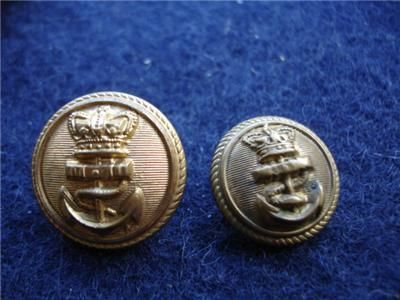 Old Naval Buttons | Vintage Buttons | Royal navy uniform, Navy