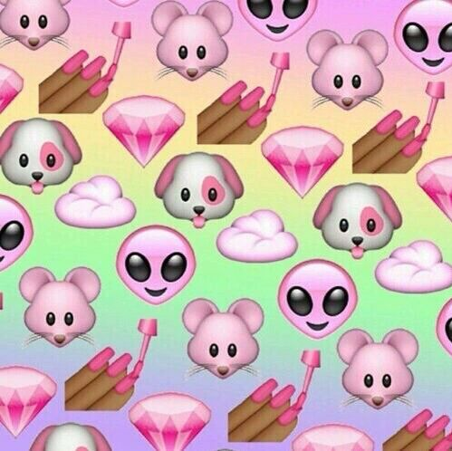 Emoji wallpaper >girly<