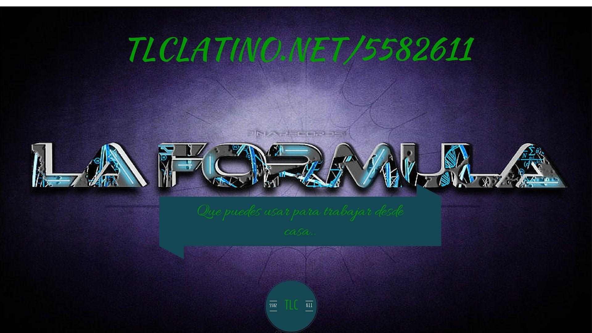 La formula que puedes usar para tener ingresos por internet haciendo lo que ya haces.. tlclatino.net/5582611