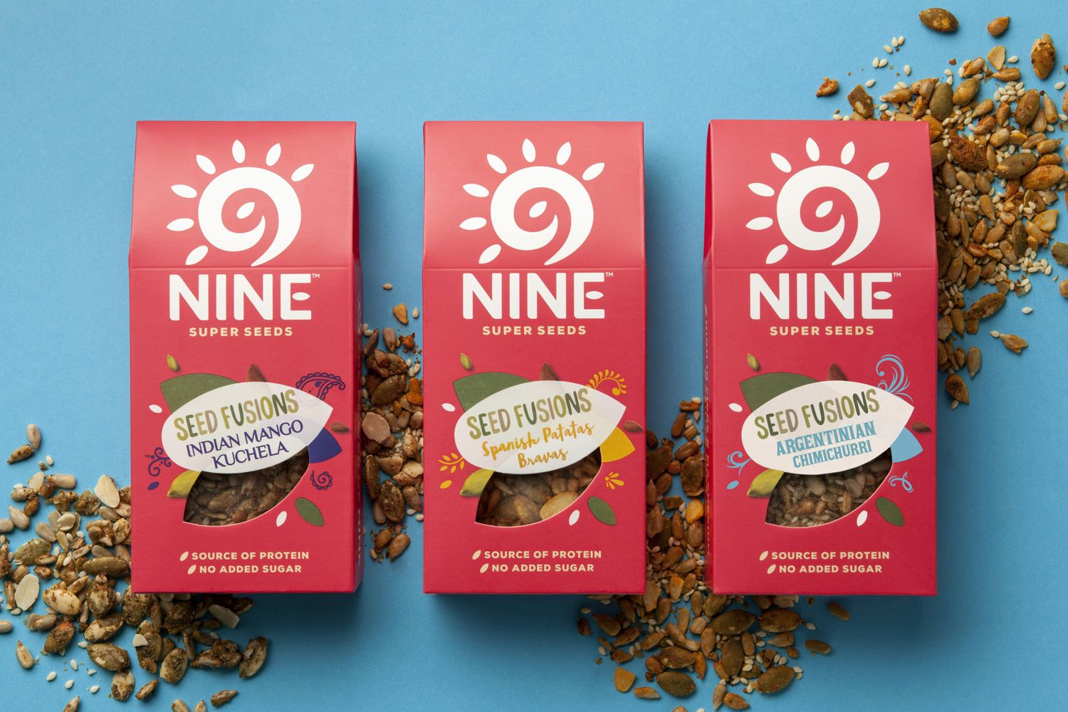From Little Seeds Big Adventures Grow With 9nine Nutrition Logo Health Snacks Food Packaging Design