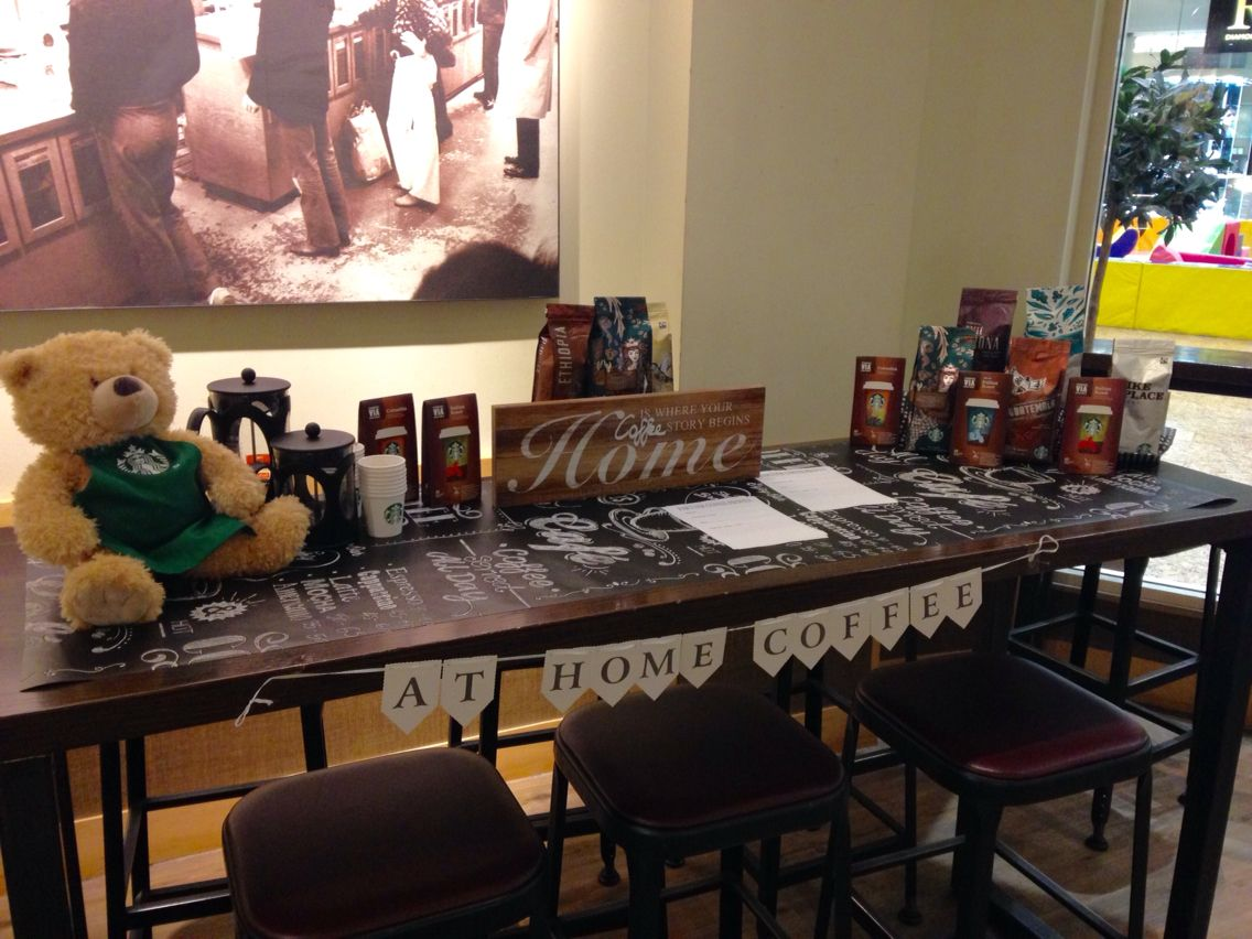 Another at home coffee event all things starbucks pinterest