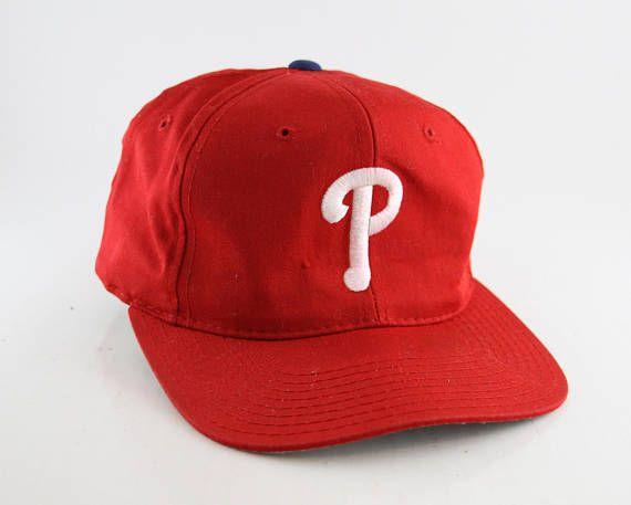 Vintage Philadelphia Phillies Snapback Baseball Cap     bd777603f4fd