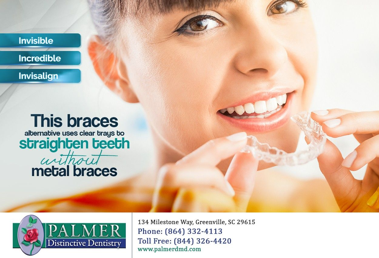 A Straighter Smile Is Possible Without Having To Spend Years In Traditional Braces Clear Braces Teeth Straightening Invisalign