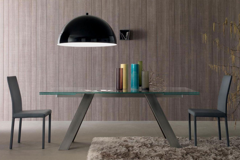 Mesas De Refei Es Em Vidro Extens Veis Glass Dining Tables  # Muebles Sapateras