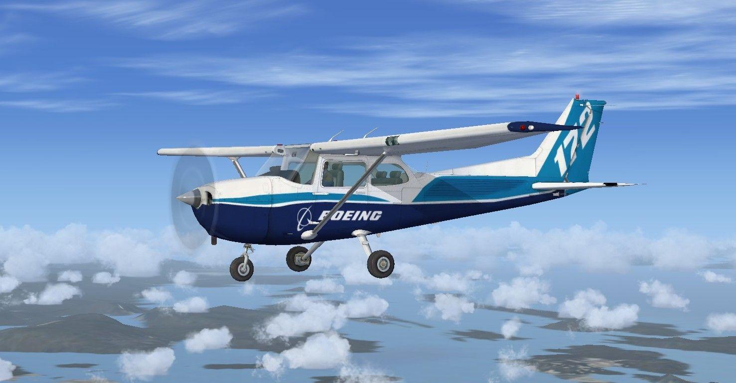 FSX Cessna 172 Dreamliner Livery  Boeing Dreamliner Livery