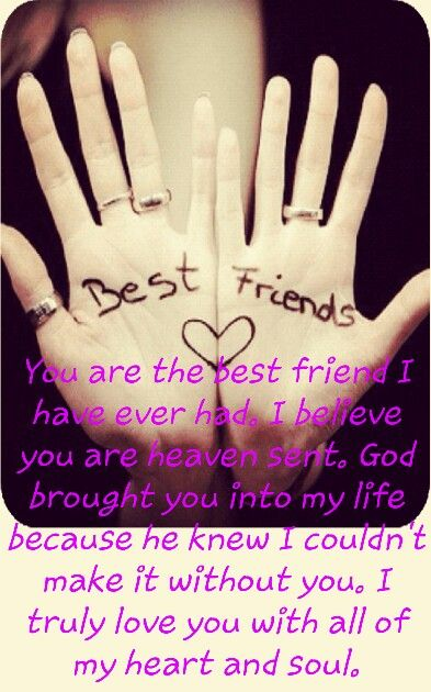 Heaven sent.... | Bff quotes, Heaven sent, Quotes