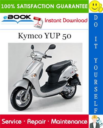 Kymco Yup 50 Scooter Service Repair Manual Repair Manuals Repair Yup