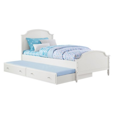 White Dorel Living Vivienne Twin Daybed