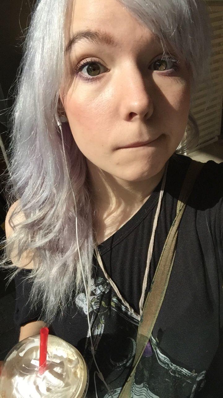 """tvheadedgirlfriend: """" Early morning coffee, early afternoon selfie post. """""""