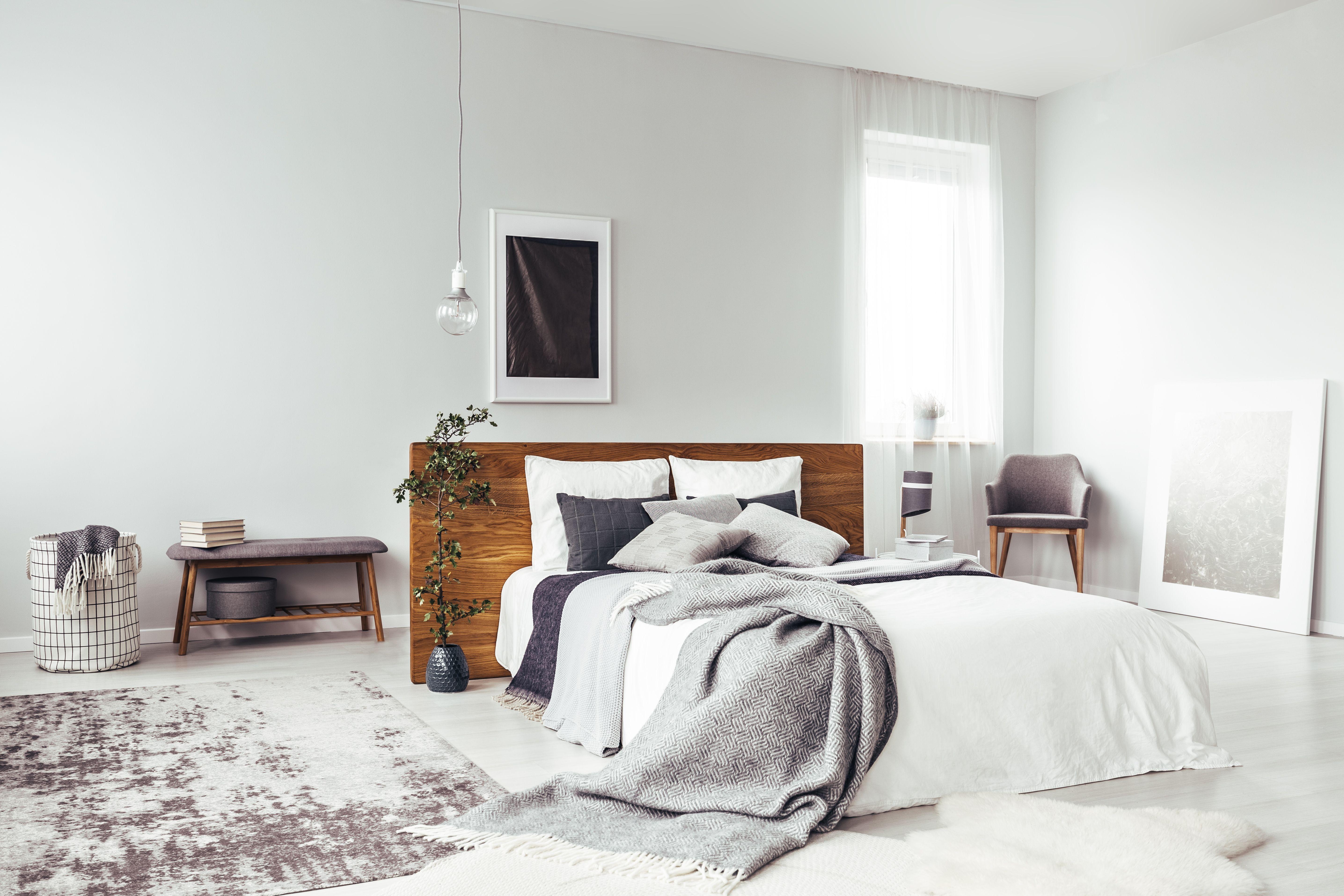nos idees deco pour une chambre grise et douillette decoration interieure rustique deco chambre grise chambre grise